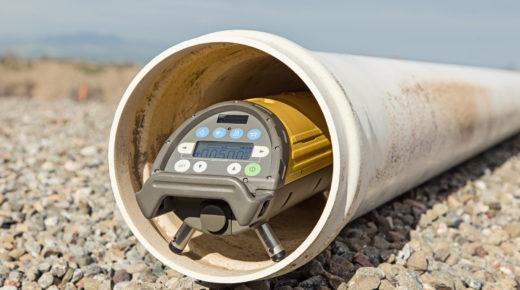 Niwelator laserowy Topcon TP-L5G. Układaj rury szybciej i bez poprawek