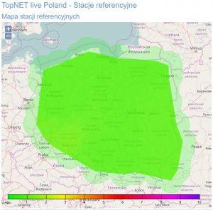 obraz mapy zaburzeń w jonosferze, TPI NETpro