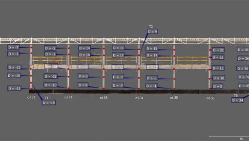 Zastosowanie technologii skanowania laserowego 3D w procesie geodezyjnej obsługi inwestycji