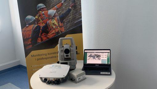 Kompletny system monitoringowy TOPCON DELTA w GEO-Instruments